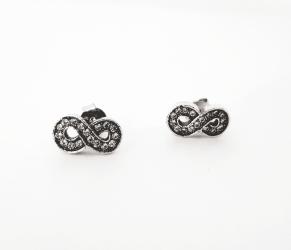 Дамски сребърни обеци-98