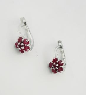 Дамски сребърни обеци-110