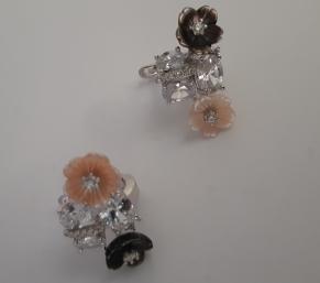 Дамски сребърни обеци-54