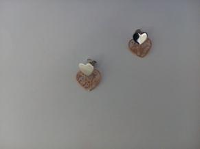Дамски сребърни обеци-37