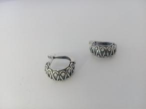 Дамски сребърни обеци-20