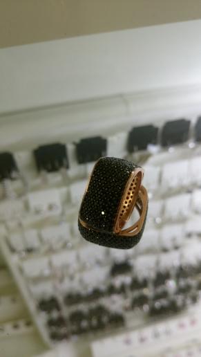 Дамски сребърен пръстен-3