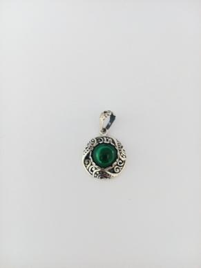 Дамски сребърен медальон-6